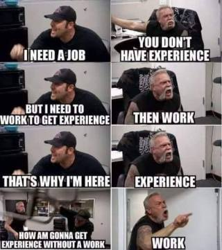 work place irony